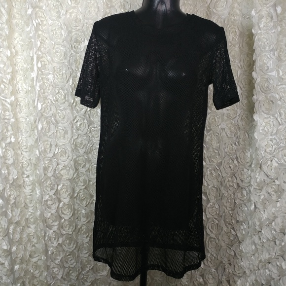 Dresses Makemechic Womens Short Sleeve See Through Sheer Poshmark